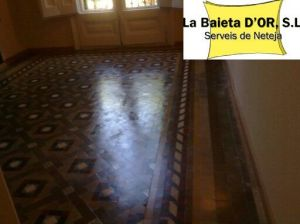 Pulido mosaico Nolla LabaietaDor